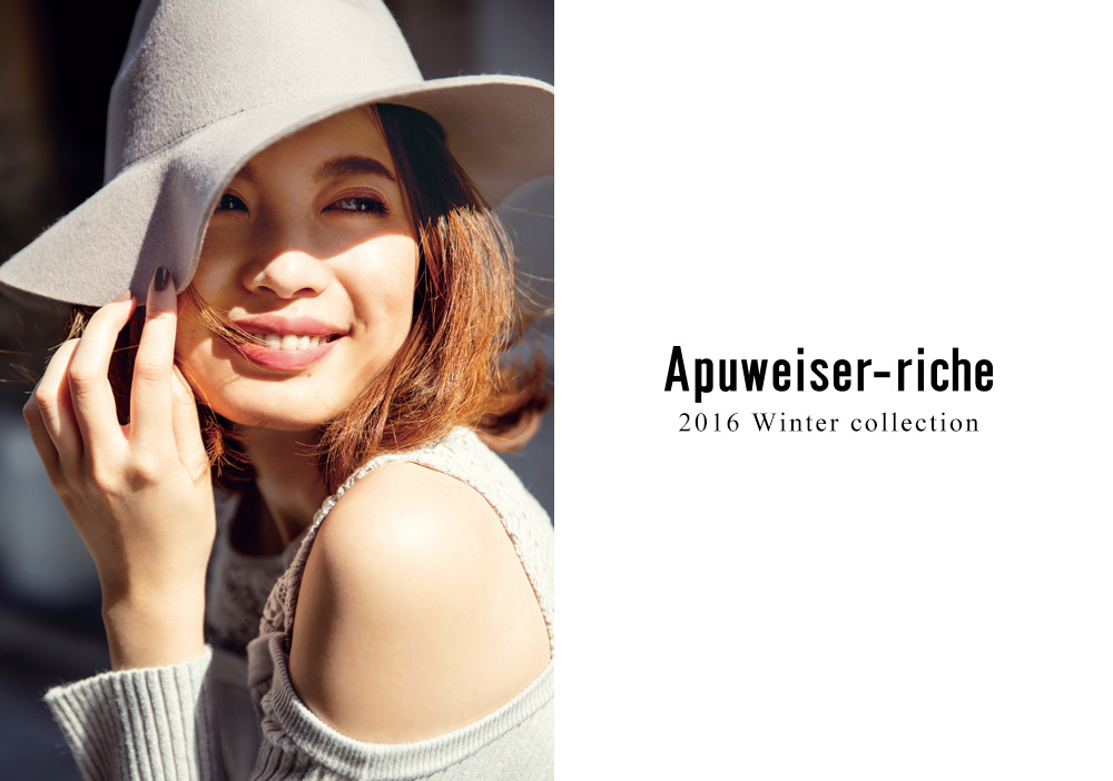 2016 Autumn & Winter 2nd Collection - Apuweiser-riche
